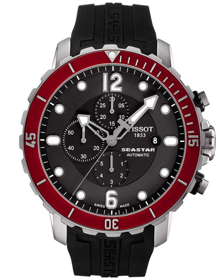 Ceas Tissot T-Sport Seastar 1000 T066.427.17.057.03 Cronograf Automatic