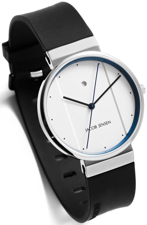jacob jensen new 750 mens watch anytime. Black Bedroom Furniture Sets. Home Design Ideas