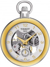 Tissot Pocket Mechanical Skeleton T853.405.29.412.00 watch