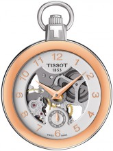 Tissot Pocket Mechanical Skeleton T853.405.29.412.01 watch