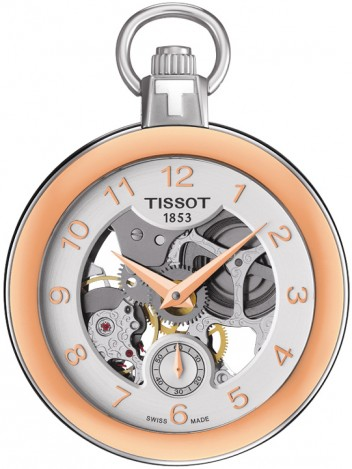 Tissot Pocket Mechanical Skeleton T853.405.29.412.01