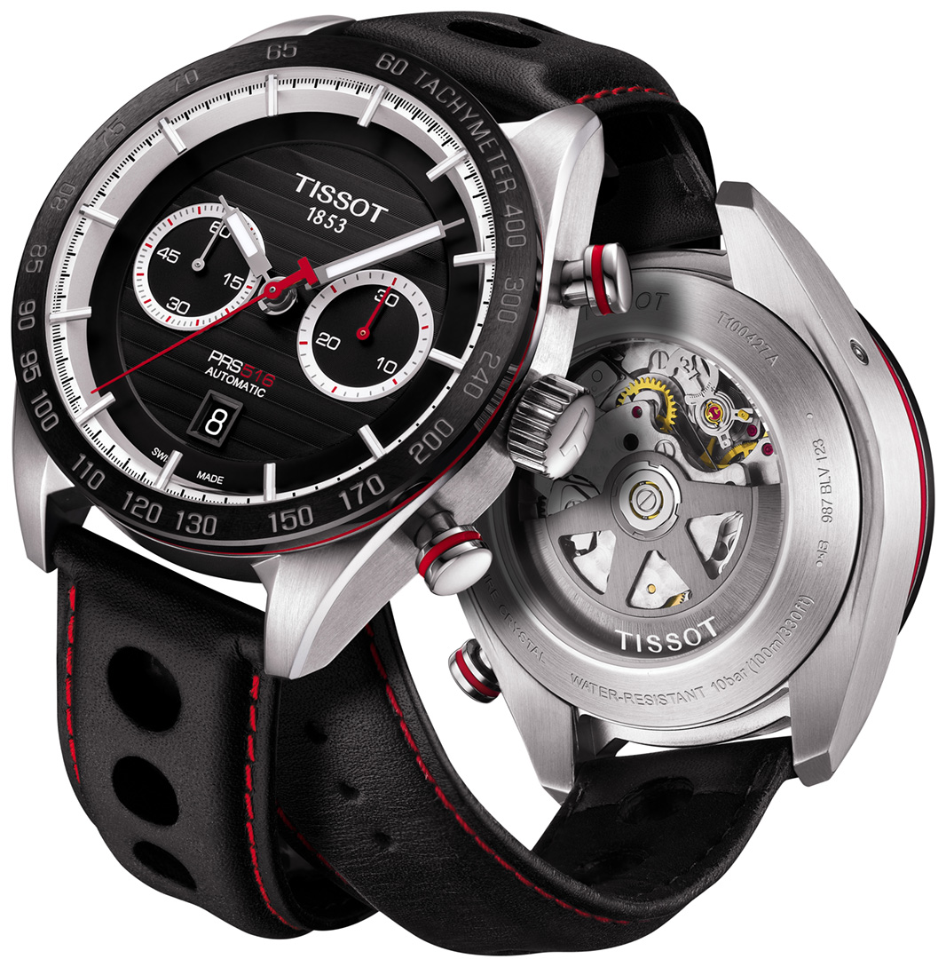 Tissot Prs 516 T100 427 16 051 00 Mens Watch Anytime