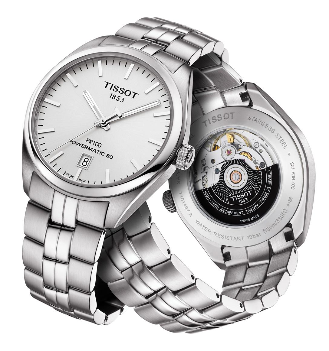 Tissot Pr 100 T101 407 11 031 00 Mens Watch Anytime