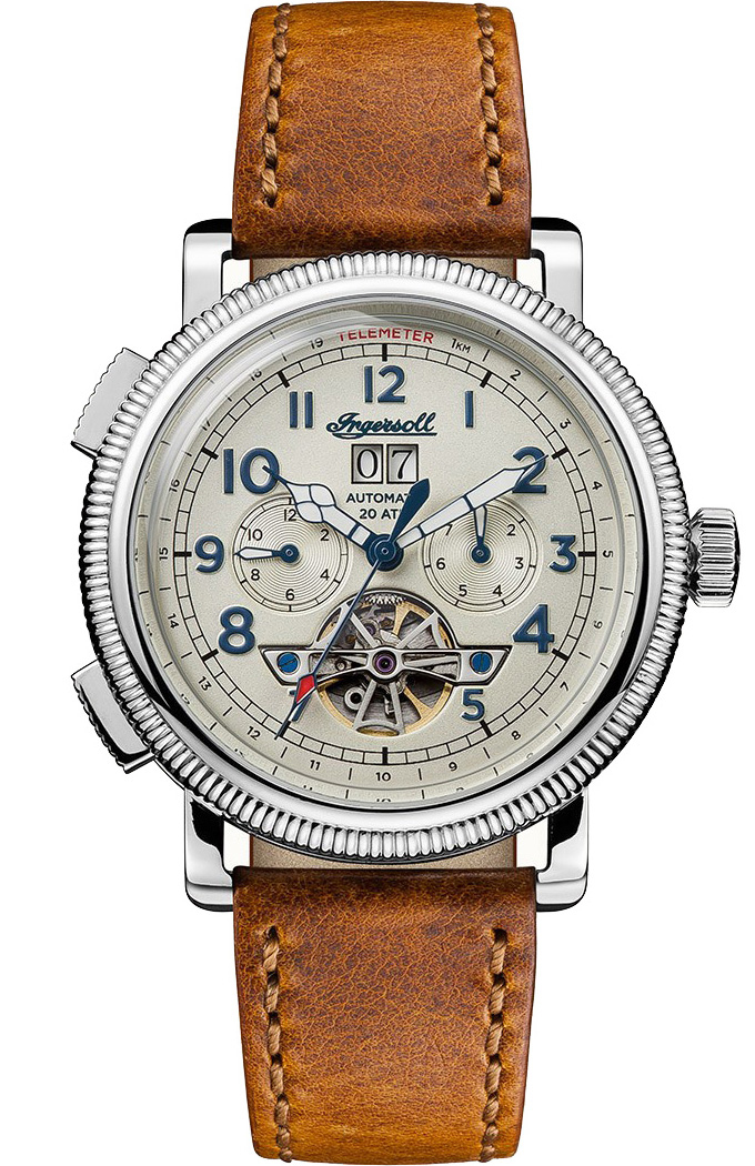 Ingersoll triumfowy zegarek kieszonkowy z datowaniem