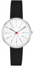 Arne Jacobsen Bankers 53100-1410 watch
