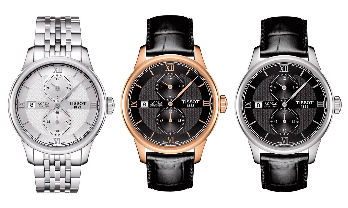 Tissot Le Locle Regulateur Collection