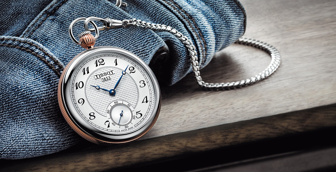 Tissot Lepine Mechanical pocket watch